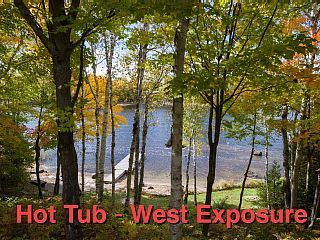 West Facing Private Cottage Oasis On Beautiful Isabella Lake Near Parry Sound