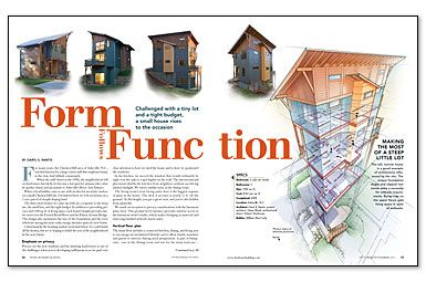 Form Follows Function - one architect's solution to designing ...