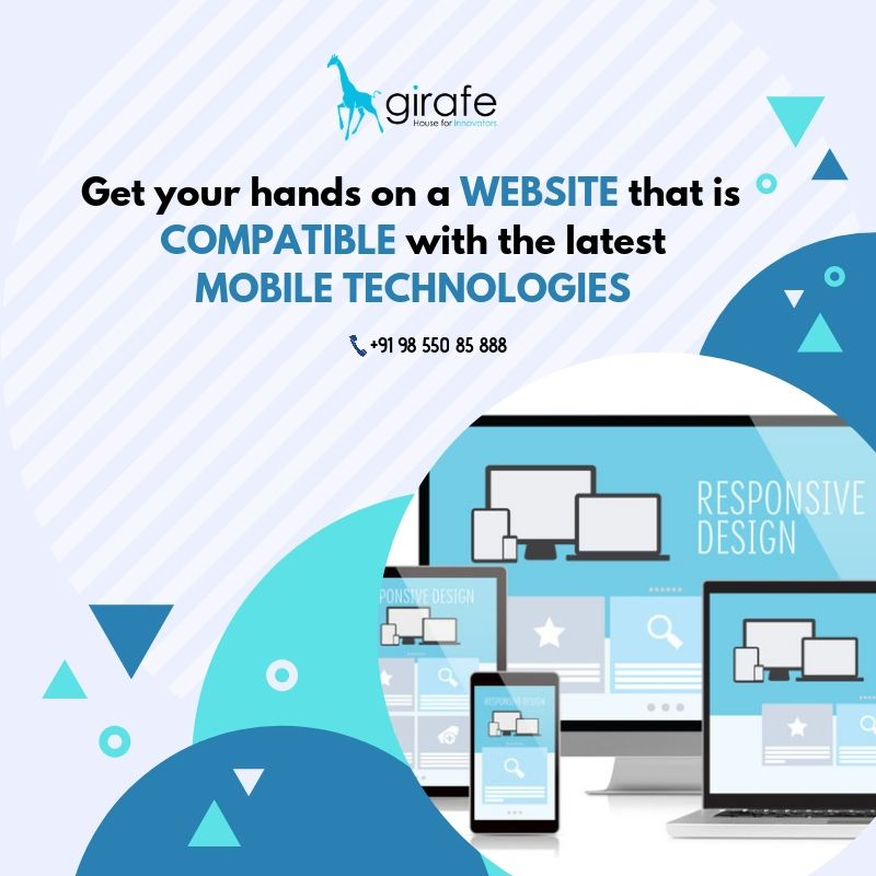 Extend Your Reach With A Responsive Web Design We Help Take The Complexity Out Of Responsive Design With Website Design Company Web Design Agency Web Design