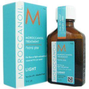 Moroccanoil Treatment Light Oil 25 ml - Naturalny olejek arganowy do włosów delikatnych,rozjaśnianych lub farbowanych na blond. http://www.pieknewlosyonline.pl/pl/c/MOROCCANOIL/171