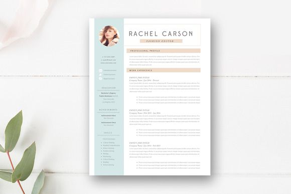 Modern Resume Template 3 Page @creativework247 Creative Designs