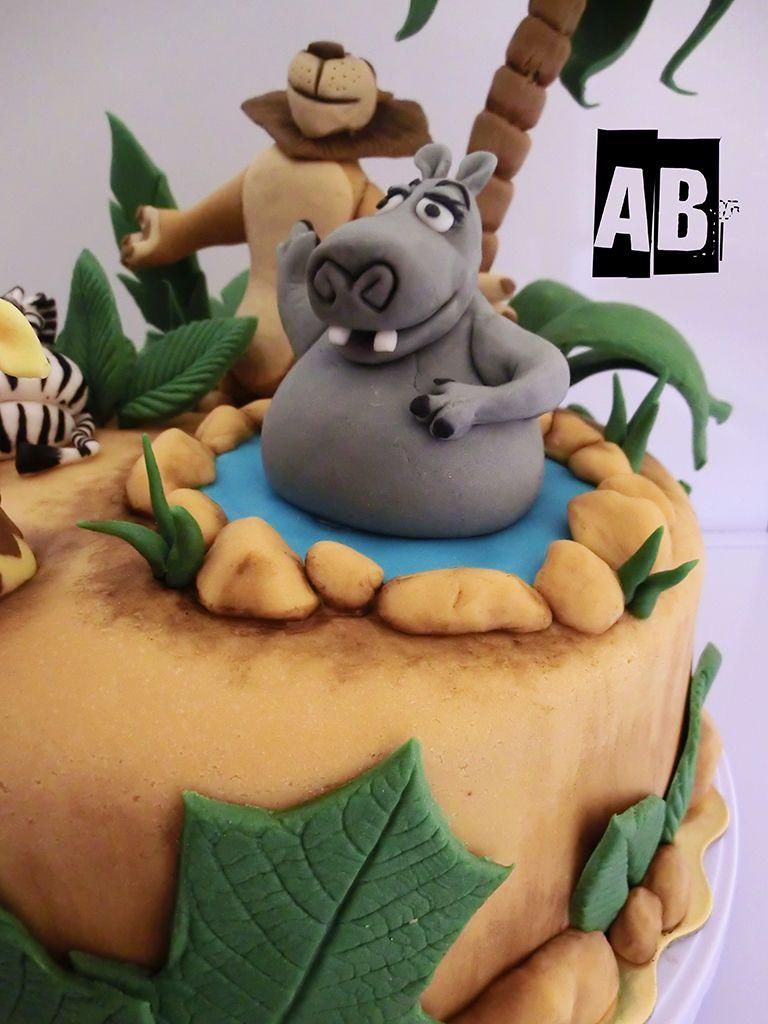 Uncategorized Gloria From Madagascar torta madagascar gloria cakes pinterest fondant gloria