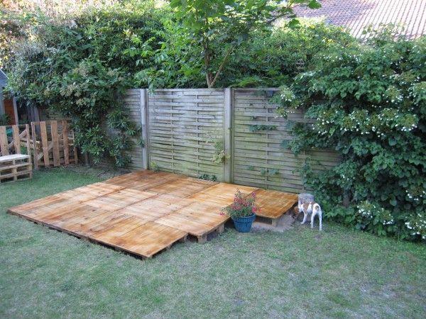 3 Étapes pour la Construction du0027une Terrasse en Palette (PHOTOS) - construction d une terrasse bois