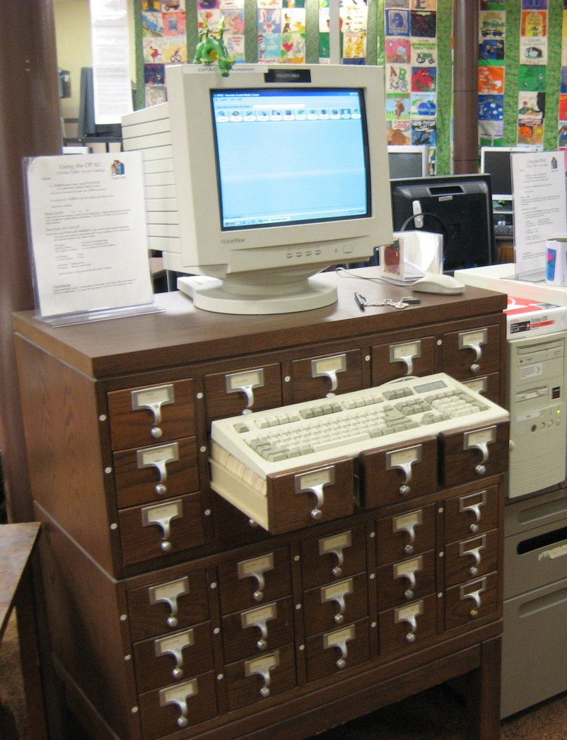 11 Uses for Repurposed Library Card Catalogs -- While this may not ...