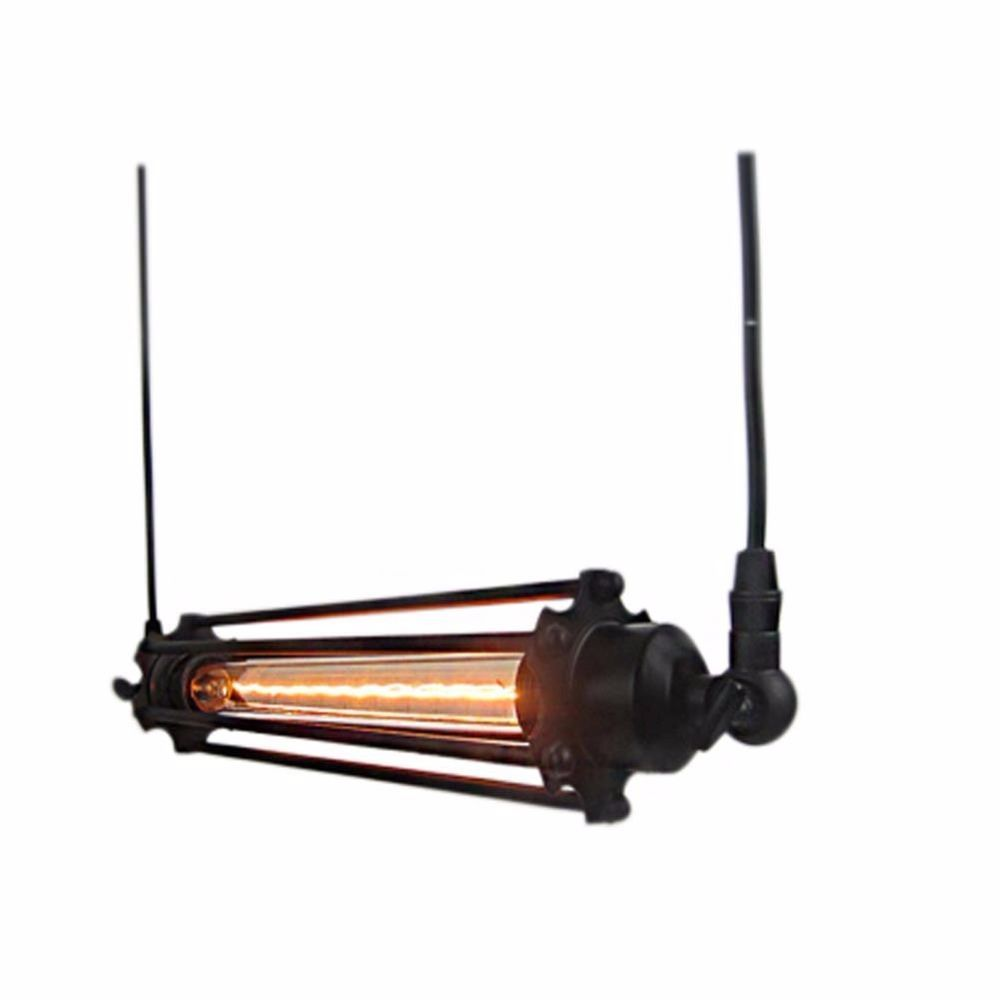 xhtang industrial retro flute pendant lamp kitchen bar hanging ... - Lampadine Edison Ebay