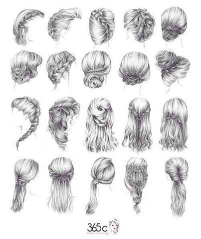 Fecfccbdabfabajpg Pixels Wedding Hair - Different hair style drawing