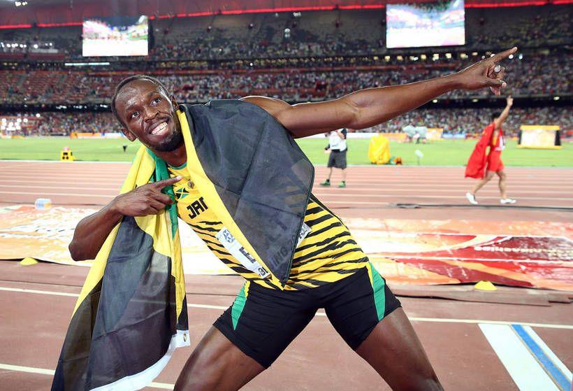 Bolt niukalla erolla satasen maailmanmestariksi!  Jännittävä 10 sekunttia.