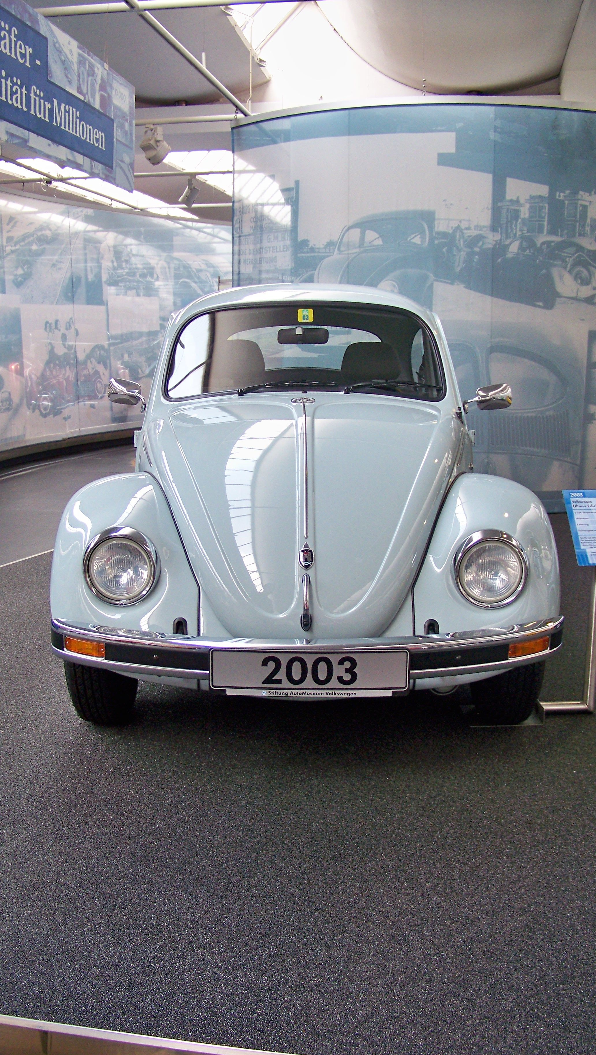 vw air cooled | Last VW bug 2003  VW Museum and Wolfsburg
