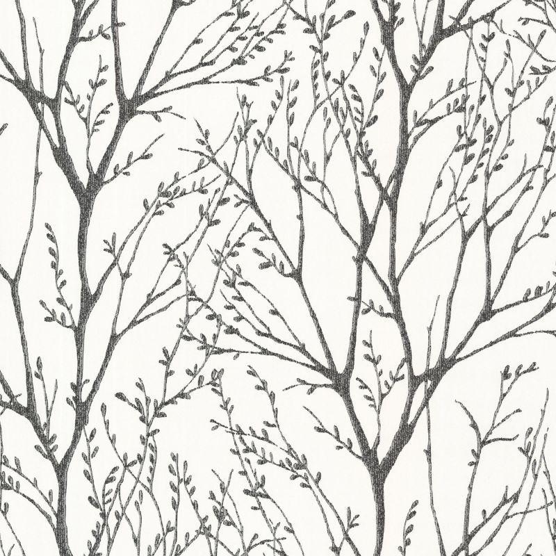 Brewster 2532 20424 Sam 8 X 10 Sample Of 2532 20424 Delamere Black Tree Branches Wallpaper Sample Sam Gold Tree Wallpaper Silver Tree Wallpaper Tree Wallpaper