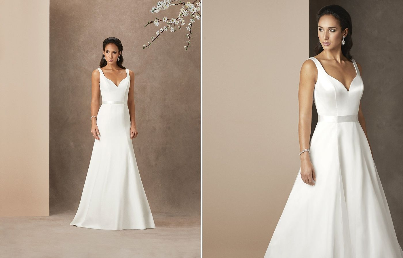 Caroline Castigliano Uk Wedding Dress Designer With Exquisite Structure And Fit For The Classi Classic Wedding Dress Wedding Dresses Uk Elegant Wedding Dress