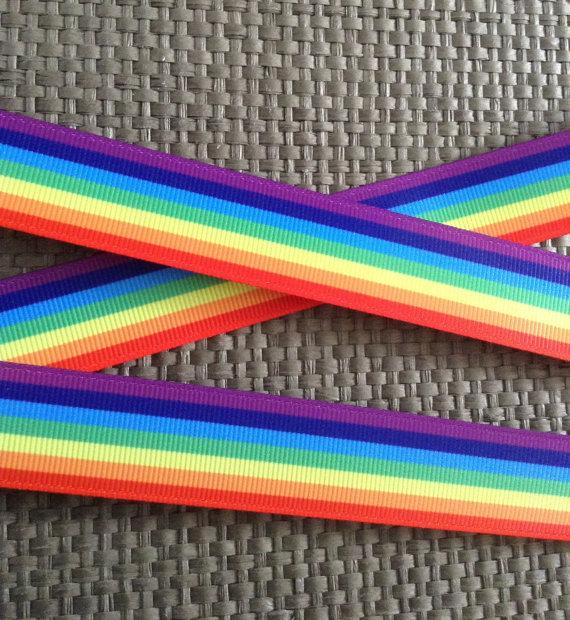 Rainbow Ribbon, Colorful Ribbon