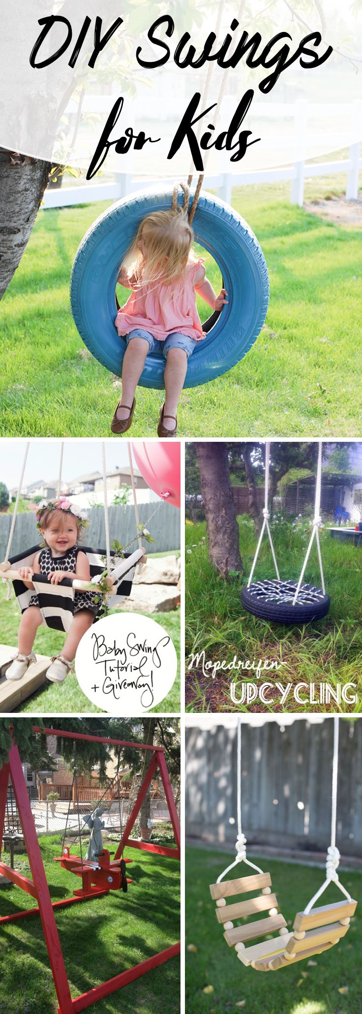 15 incredible diy swings for kids bringing a lot more joy to your