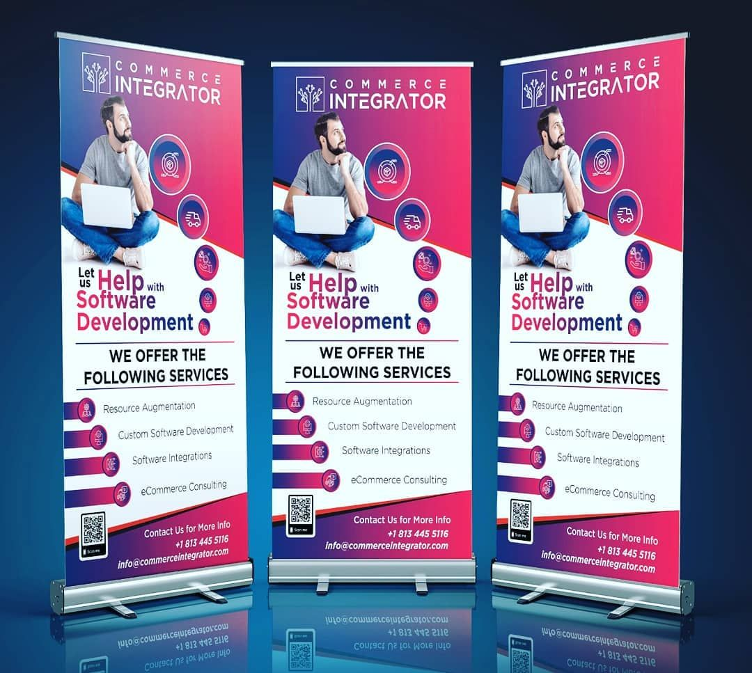 Grow your business by roll up standee designs and printing