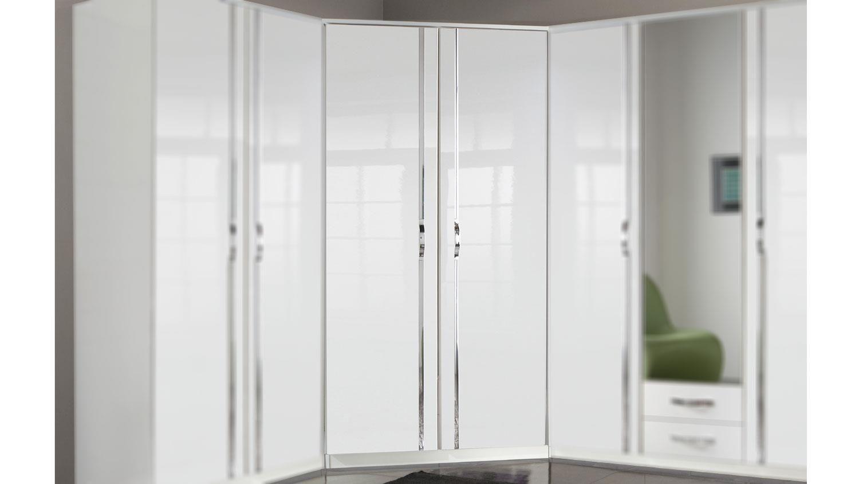 Kleiderschrank Weiß Hochglanz 150 Cm Breit