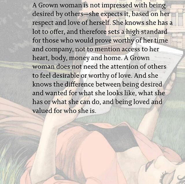 Grown women