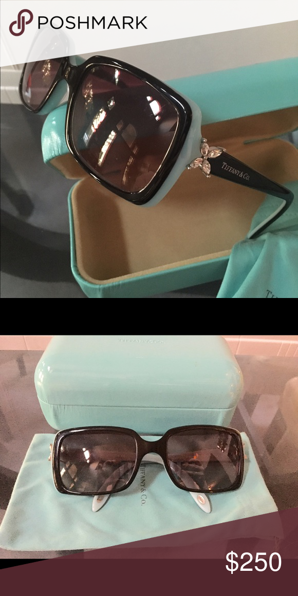 2d8a39ca9e96 Tiffany   co. Sunglasses Practically new. No scratches or scuffs Accessories  Sunglasses