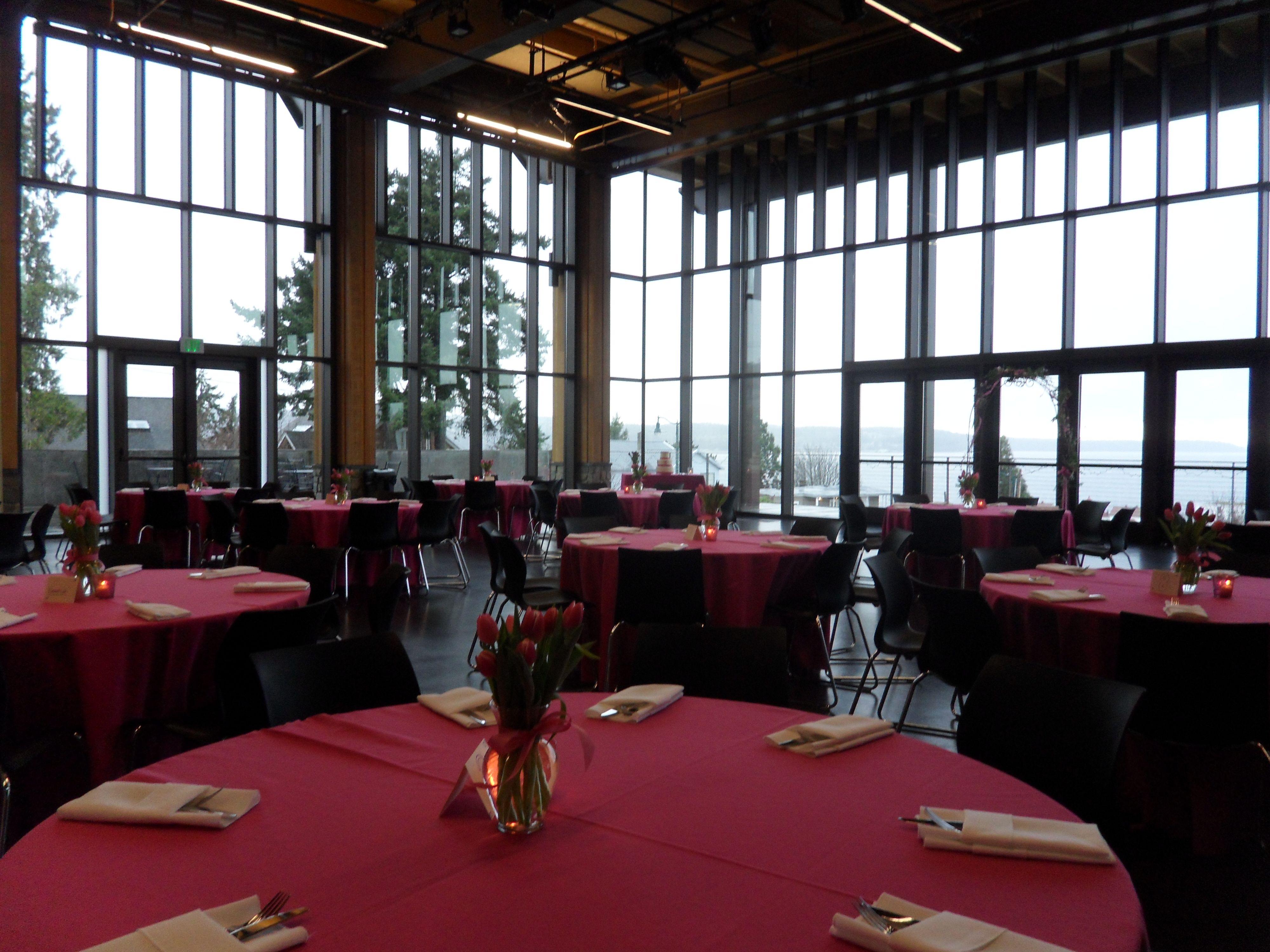 Rosehill Community Center Mukilteo Wa Romantic Lighting Tent Wedding Rose Wedding