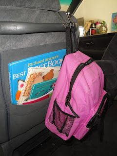 *Clever Car hooks! Organize your car! Buy at http://www.mycleverbiz.com/aprildelrio/ $12 for 2 from Clever Container.