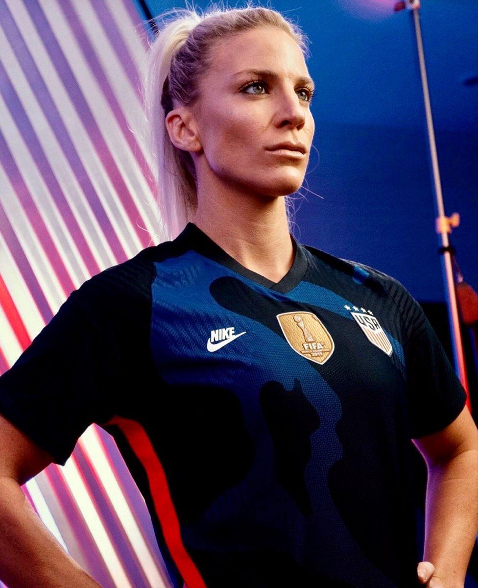 Julie Ertz, USWNT, 2020 Olympics Nike Futura kit in 2020
