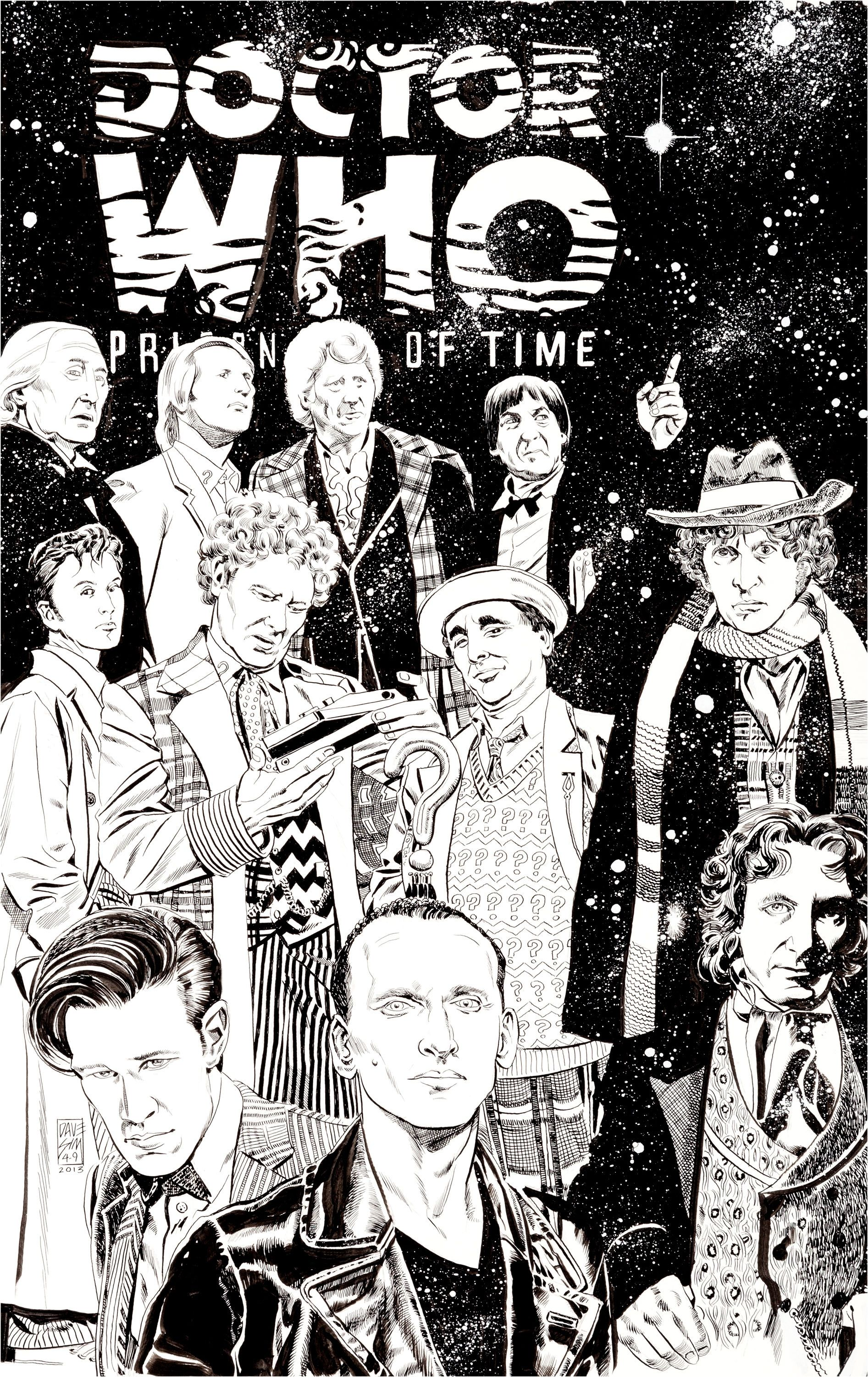 Image of Dave Sim Doctor Who Prisoners of Time 12