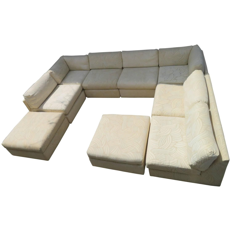 Incredible Milo Baughman Sectional Sofa Style Eight Piece Sleeper Customarchery Wood Chair Design Ideas Customarcherynet