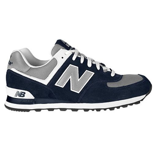 New Balance 574 Navy Grey White Running Shoes For Men Sneakers Men Shoes Mens