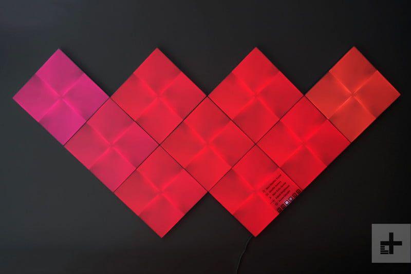 Amazon Com Nanoleaf Canvas Starter Kit Home Kitchen 5