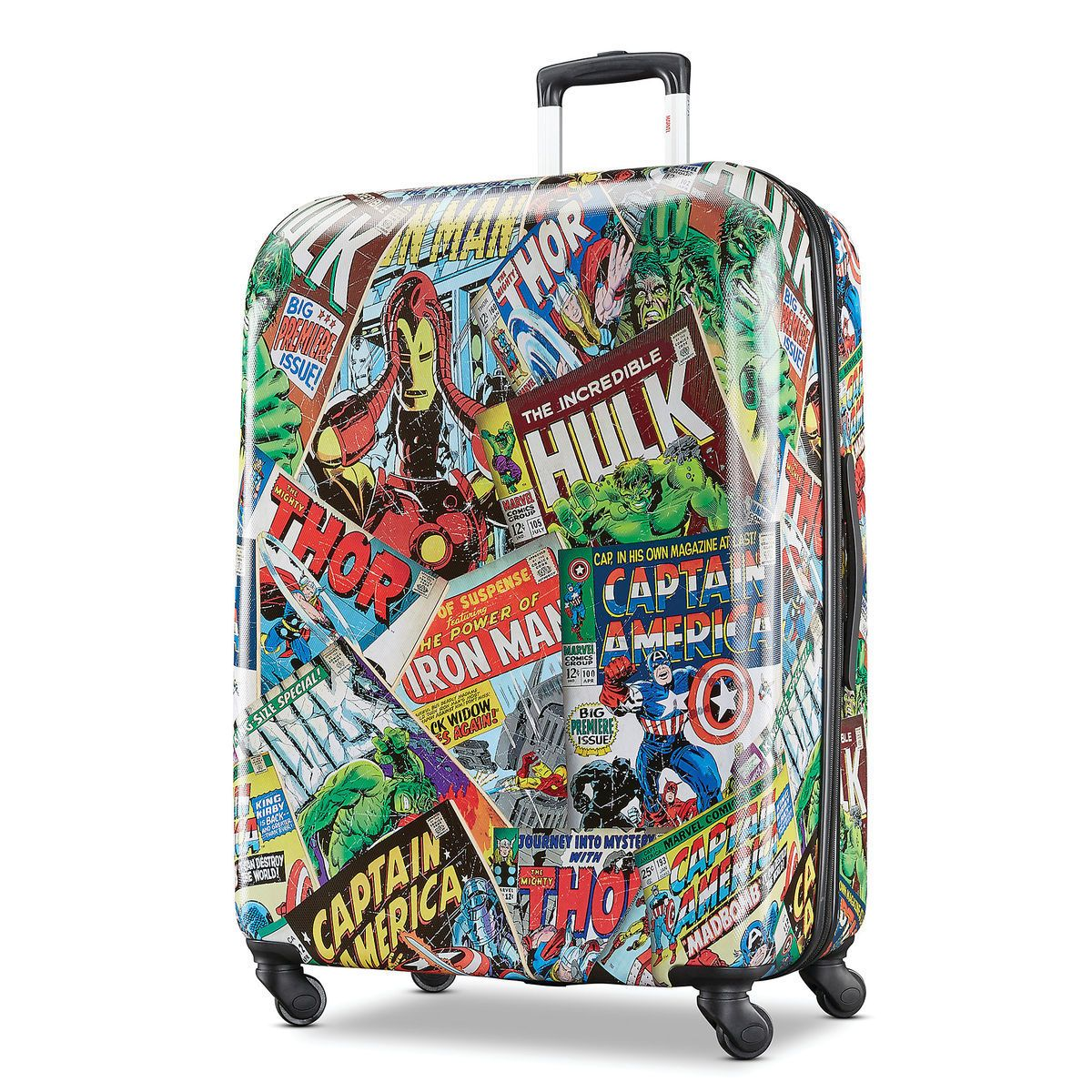 Thumbnail Image Of Marvel Comics Rolling Luggage By American Tourister Large 1 Marvel Comics American Tourister Marvel