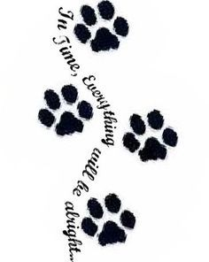 paw print with angel wings tattoo - Google Search ...