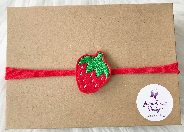 Strawberry Headband f29d5c1bbfb