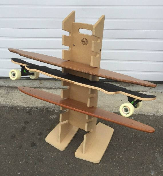 Superior OBERAND Eight Spot Longboard Floor Rack By AOCollective On Etsy Photo Gallery