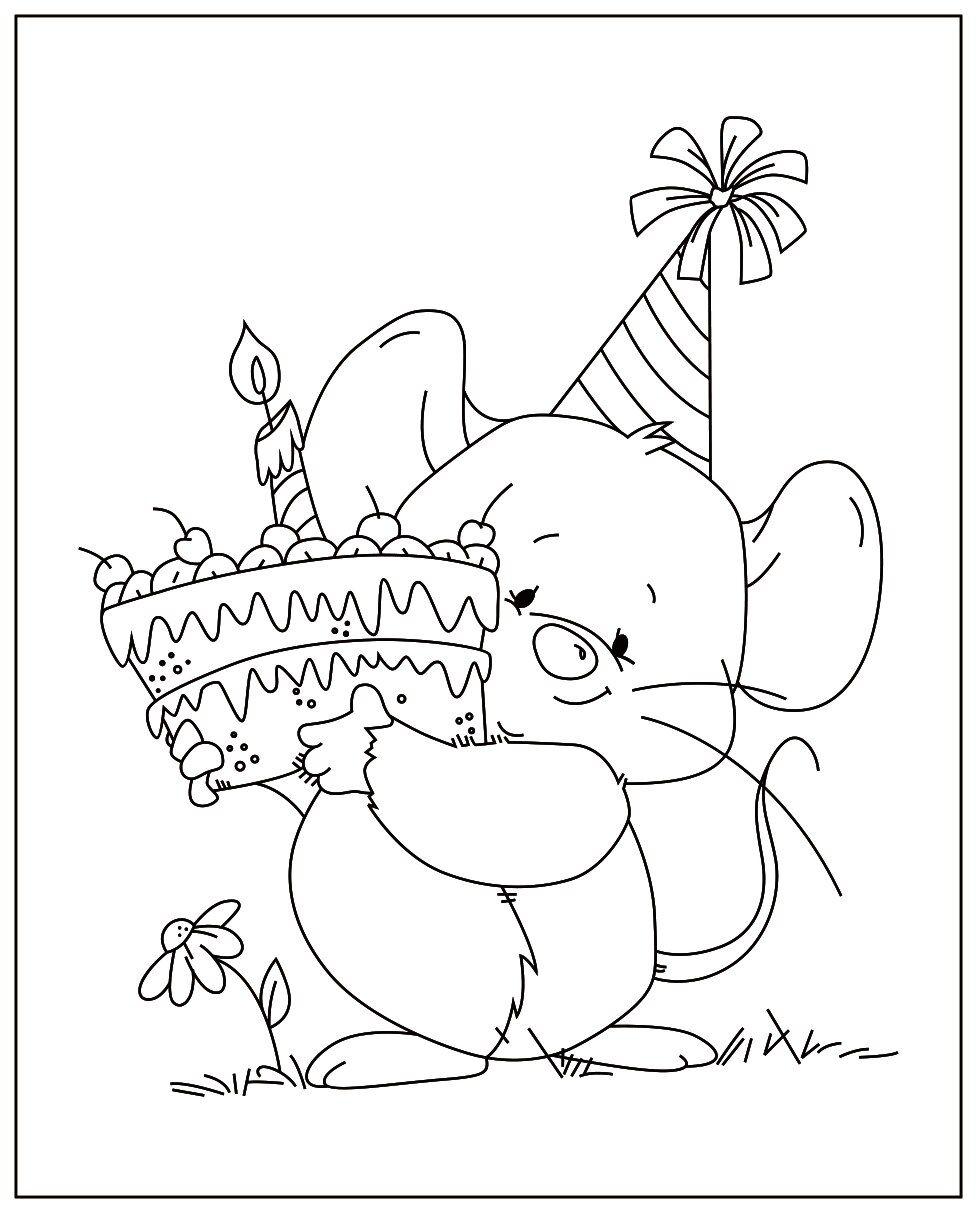 Muis Duurt Taart Transparant Siliconen Stempel En Metalen Sterven Seal Voor Diy Scrapbooking Fotoalbum De Disney Coloring Pages Cute Coloring Pages Digi Stamps