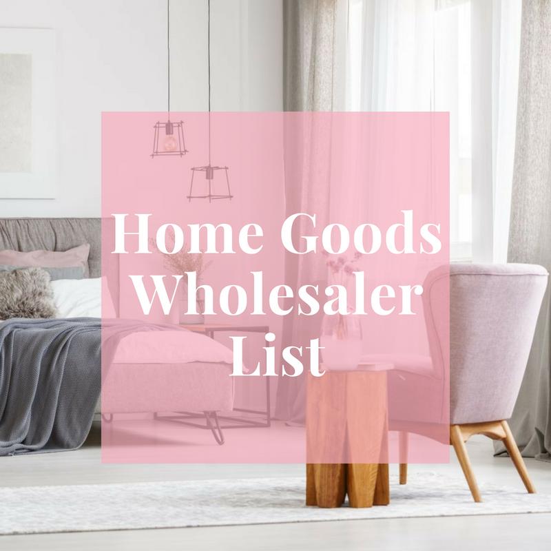 Home Goods Wholer List Boutique