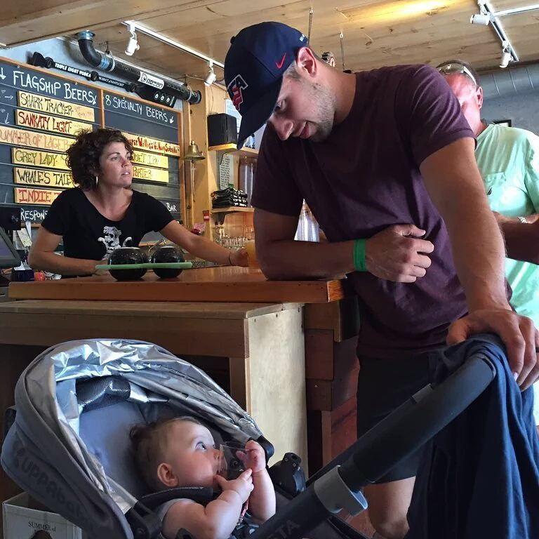 Nick and Maisie Bonino  #NickBonino #PittsburghPenguins