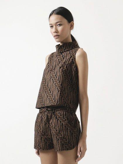Model Baju Batik Modern Pria dan Wanita  Trend Baju Batik Terbaru