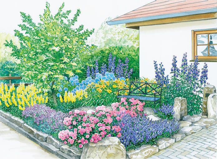 Vom vorgarten zum vorzeigegarten garten garten garten deko und diy garten - Kleinen vorgarten gestalten ...