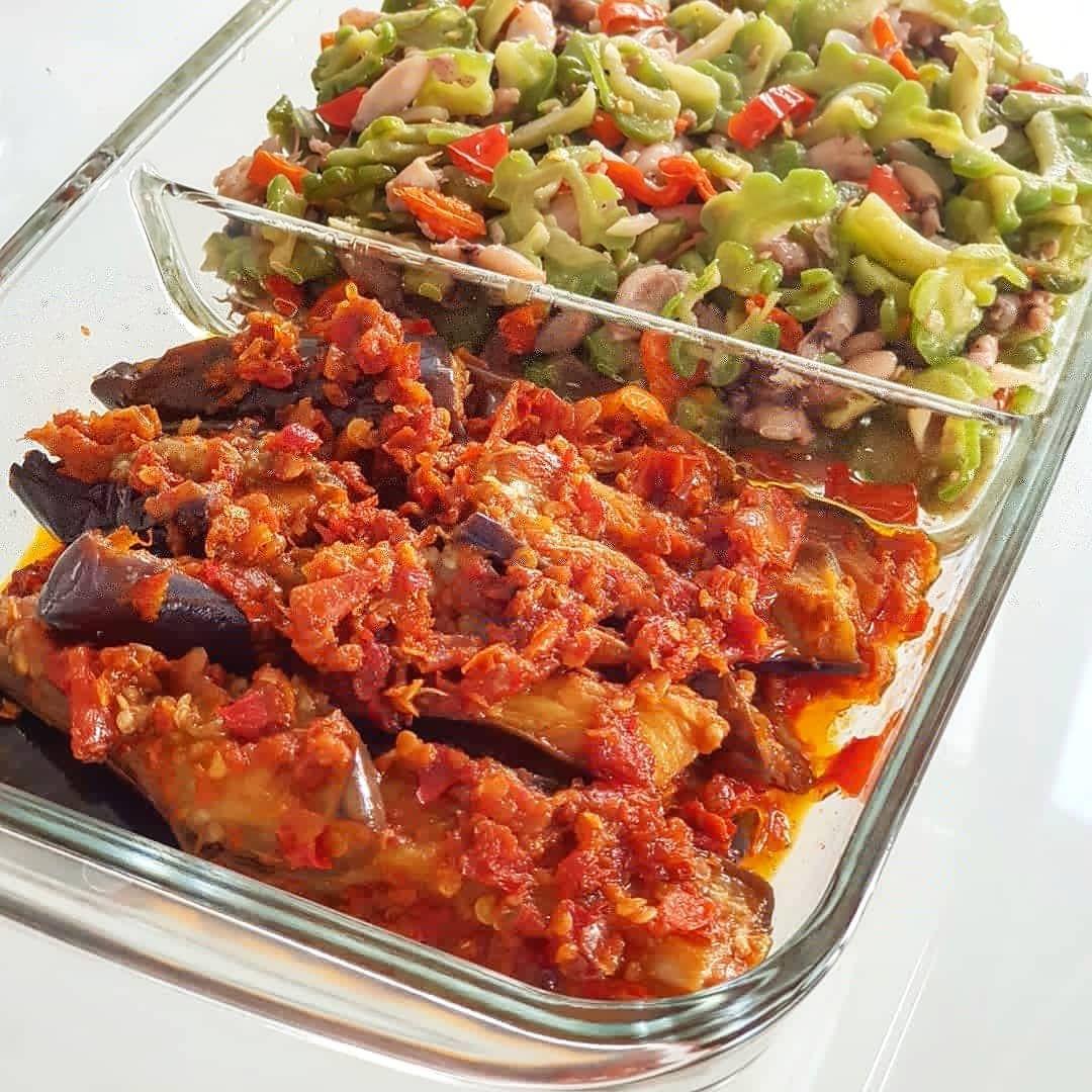 4 104 Likes 91 Comments Xander S Kitchen Xanderskitchen On Instagram Resep Terong Balado Dulu Ya Habis Ini Baru Pare Nya Resep Co Recipes Food Meat