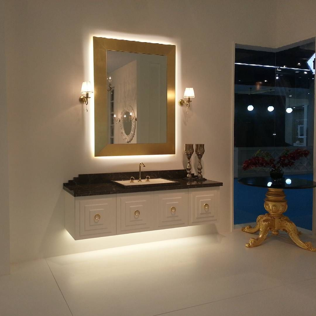 luxurious bathroom vanity #armadiart #unicera2016#unicera#bathroom