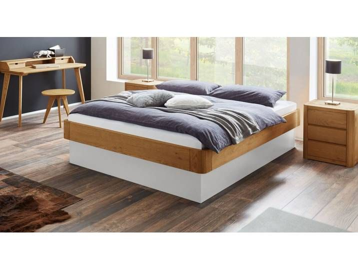 Photo of High storage couch made of solid natural oak 160×200 cm – Otavalo – St