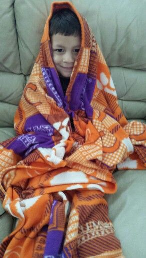 My favorite (and the cutest) Clemson fan!