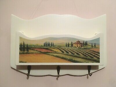 Photo of portalettere legno Con Porta Chiavi