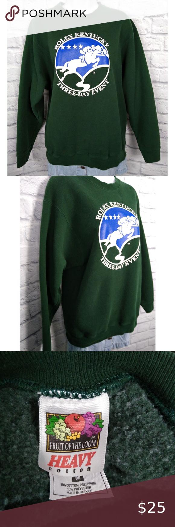 Vintage Rolex Crewneck Sweatshirt Size Medium Sweatshirts Crew Neck Sweatshirt Vintage Sweatshirt [ 1740 x 580 Pixel ]