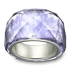 eaf106528 A light lavender is my favorite and the Nirvana Petite Provence Lavender  Ring is stunning!