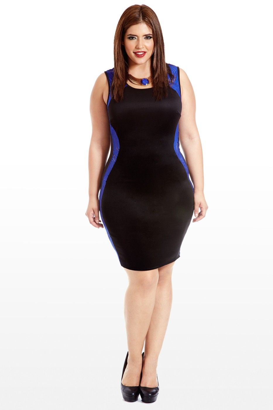 Curve is the word knit panel dress chuvyy pinterest panel