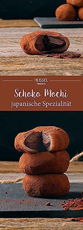 Photo of Schokoladen Mochi – japanische Spezialität – Hussel Confiserie