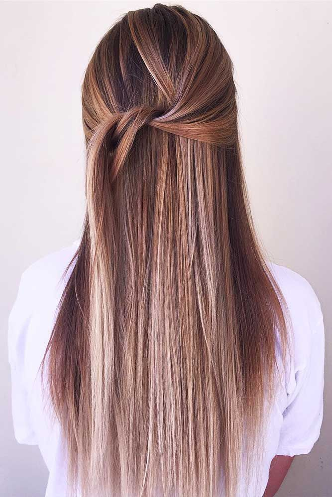 24 Trendy Long Layered Hair Styles for The New Look #layeredhair