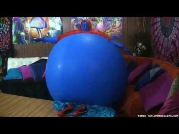 Strange Violet Beauregarde Inspired Blueberry Inflation Video