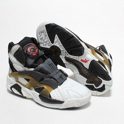 cb28a59af56  400 NEW VINTAGE PUMA DISC SENSOR BASKETBALL HI Vince CARTER MEN US SZ 6.5