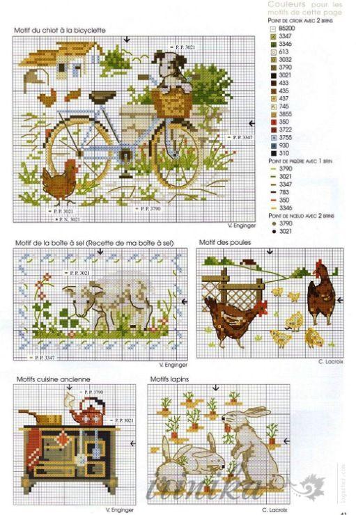 Gallery.ru / Фото #4 - 9 - irinika   cross stitch patterns ...