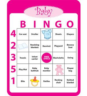 Baby Shower Bingo Pictures, Photos, And Images For Facebook, Tumblr,  Pinterest,
